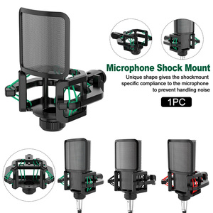 Image 2 - Professional Anti Vibration Shock Mount For Microphones With Filter Screen With blowout guard
