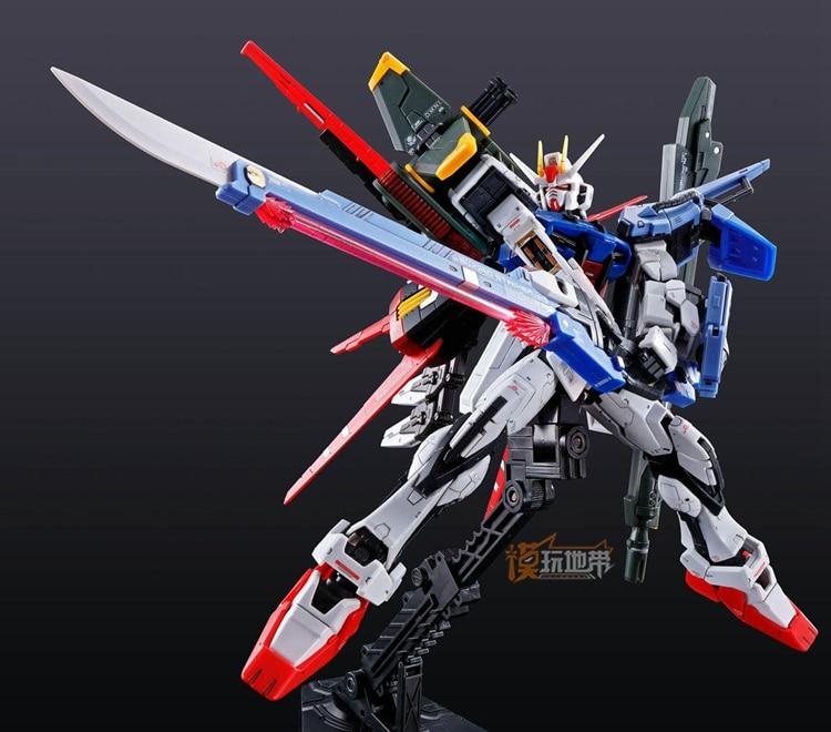 Original Gundam PB RG 1/144 Model PERFECT STRIKE GUNDAM SEED KIRA YAMATO Mobile Suit Kids Toys