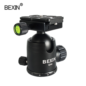 BEXIN Professional Tripod Ball Head 360 Angle Panoramic Rotation with Quick Release clmap Plate for DSLR camera