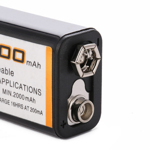 Image 4 - Nova bateria 9v 2000mah nimh recarregável 9v nimh para microfone sem fio brinquedo controle remoto de carro
