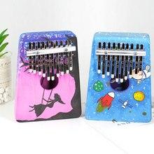 """Детский игрушечный музыкальный инструмент """"сделай сам"""", набор для детей, ручная роспись, пустой 10 ключей, игрушка для раннего образования"""