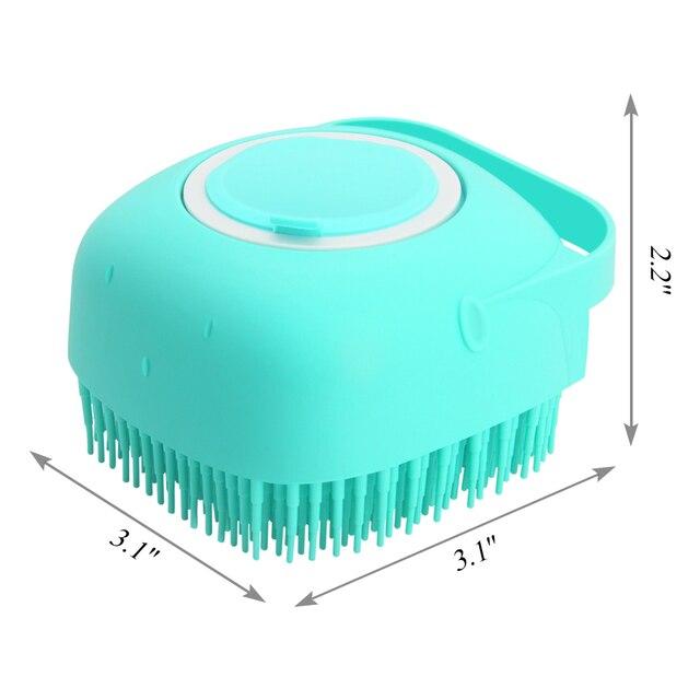 Dog Shampoo Massager Brush  5