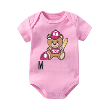 High quality Baby Girls Rompers Summer Soft and Breathable N