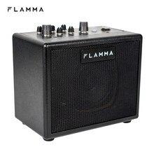 Flamma fa05 amplificador de guitarra elétrica amplificador digital combo amp bluetooth mini portátil com 7 modelos preamp 40 tambor máquina