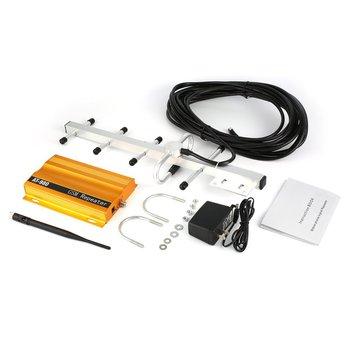 GSM 900mHz wzmacniacz sygnału telefonu wzmacniacz + Yagi anteny Full-Duplex pojedynczego portu projekt na poziomie-980 tanie i dobre opinie NONE CN (pochodzenie) Signal Booster Repeater Amplifier piece 1 522kg (3 36lb ) 20cm x 20cm x 20cm (7 87in x 7 87in x 7 87in)