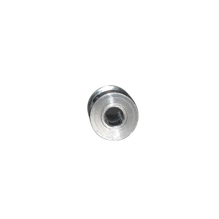 A polia cronometrando gt2 16 dentes furou 3.17mm 4mm 5mm 6mm 6.35mm para a largura 9mm 10mm 2gt a folga síncrona pequena da correia 16 dentes