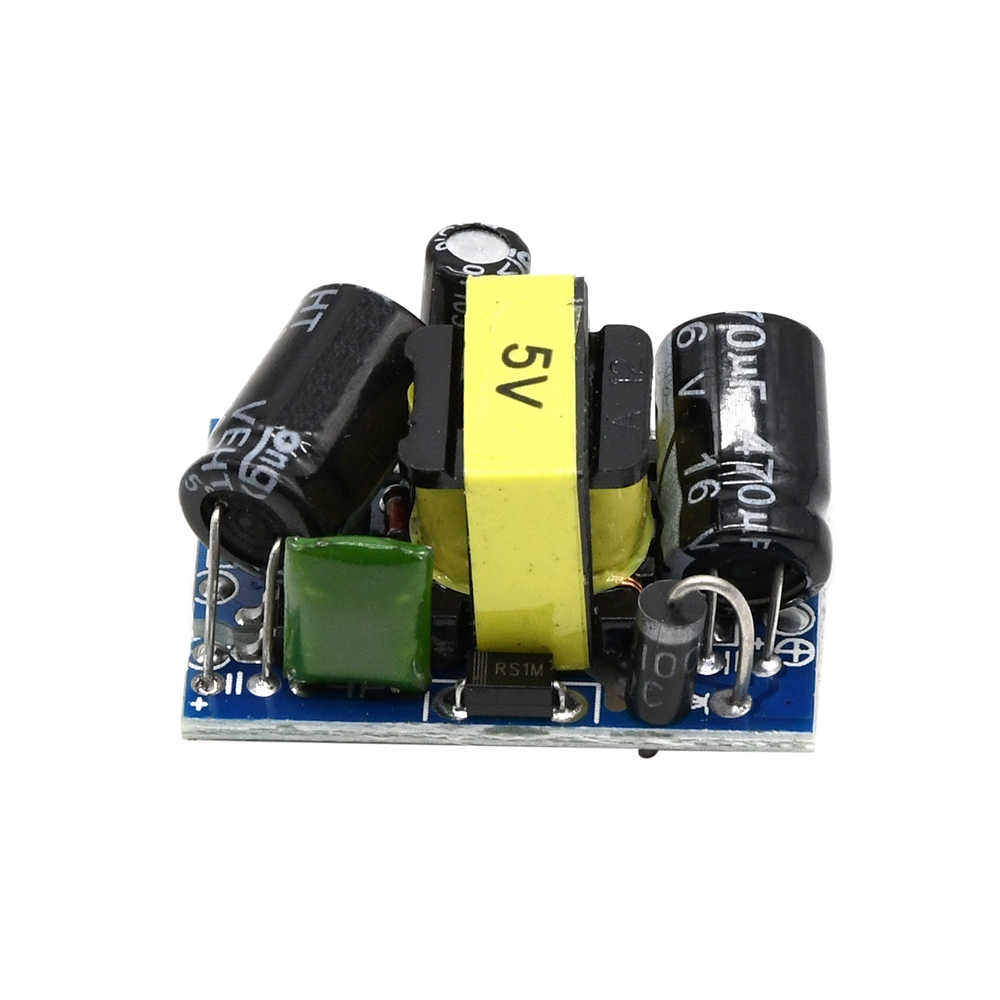 2PCS AC 220V to DC 5V 500mA Step-Down Isolated Switching Power Supply Module