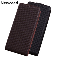 Luxury Genuine Leather Flip Cases For Huawei P Smart Z/Huawei P Smart Vertical Flip Phone Case Up and Down Leather Cases Funda