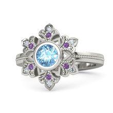 Популярное Стильное кольцо принцессы популярное благородный