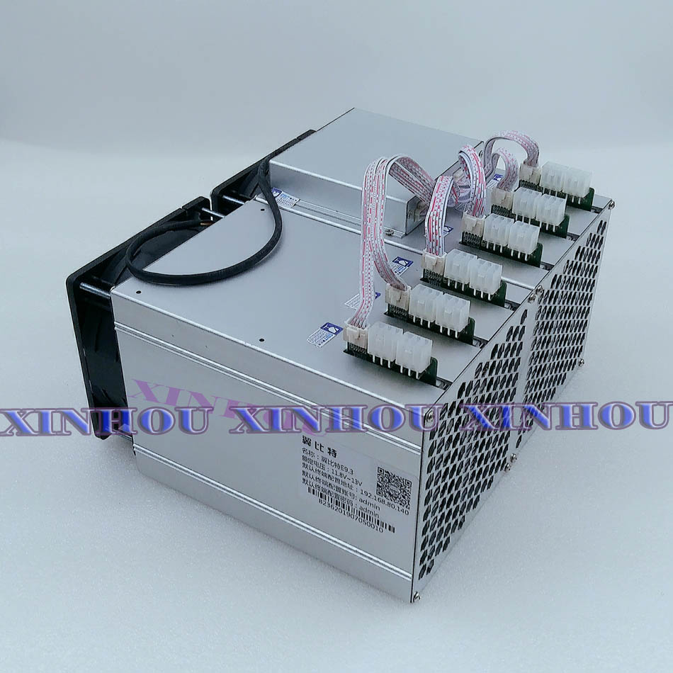 BTC BCH Miner Ebit E9.3 16TH/s SHA256 Bitcoin Asic miner with PSU better than E9i antminer s9 S9K S9j WhatsMiner M3X M3 T1 T2T 3
