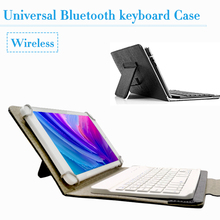 """Universal Bluetooth Tastatur Fall Abdeckung für Lenovo Tab P10 TB-X705F/L Tab M10 TB-X605F/L 10,1 """"Wireless tastatur + Russische aufkleber"""