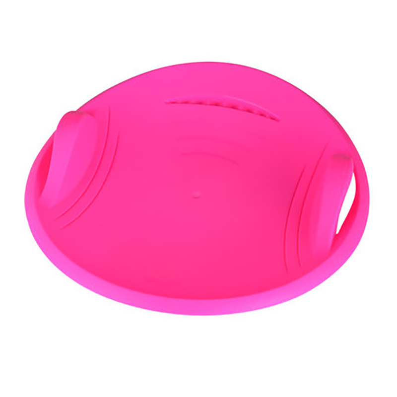 Snow Sled With Handles Brake Large Portable Thick Cold Resistant Plastic Comfortable Sand Grass Slider Disc Pad Board Toy For Ad