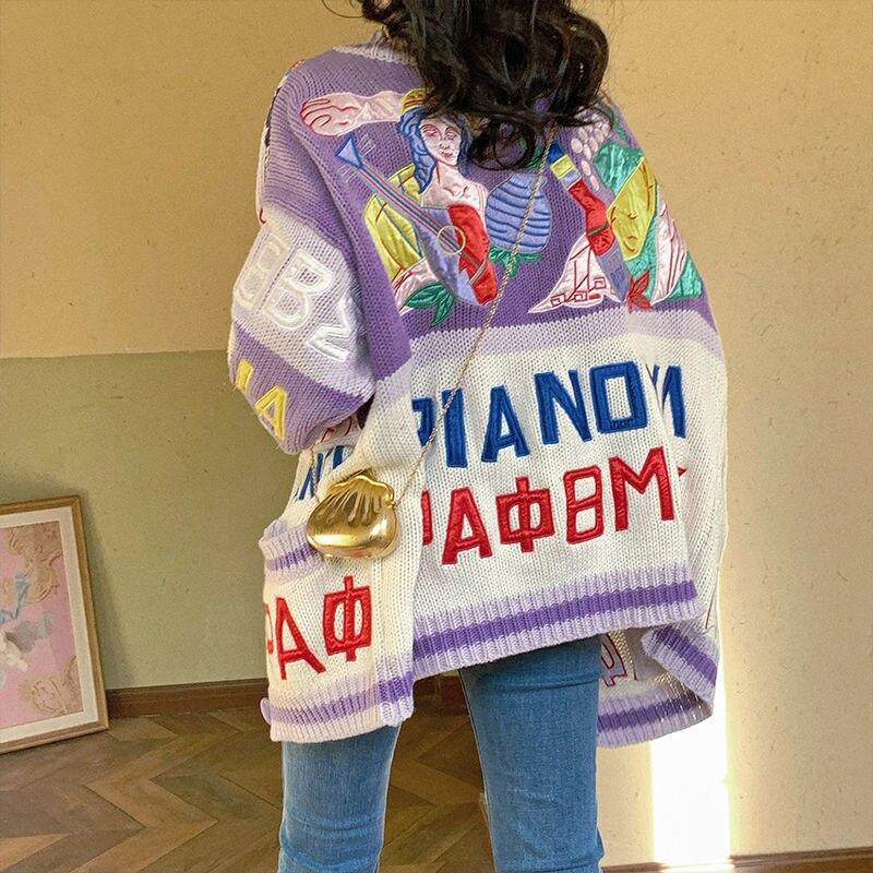 2020 японский винтажный свитер куртка женская зимняя верхняя