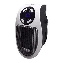 22%, calentador eléctrico a mano remoto 10A 220V 500W, Mini radiador de estufa de pared de escritorio de calentamiento rápido