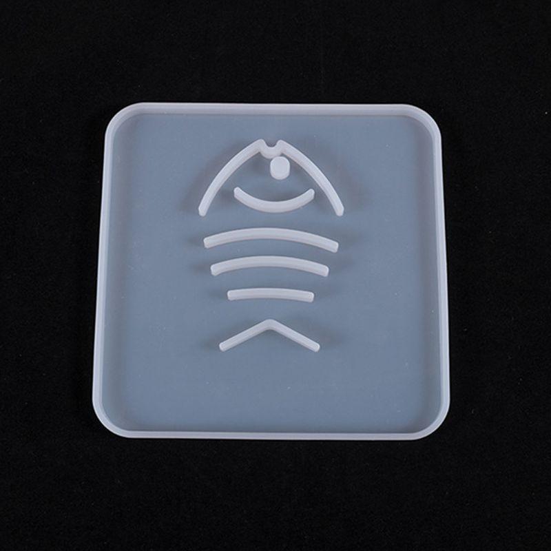 С украшением в виде кристаллов эпоксидная смола, форма чашки Coaster коврик литья силиконовая форма «сделай сам» слесарный