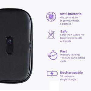 Image 4 - Youpin EUE حقيبة هاتف مبيد للجراثيم ، مبيد للجراثيم بالأشعة فوق البنفسجية ، تعقيم الأشياء الصغيرة ، تطهير الهاتف ، حقيبة الأشعة فوق البنفسجية