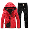 Ski Suit For Women Outdoor Waterproof Thermal 2 in 1 Snow suit Skiing And Snowboarding Jackets Set Plus Size Women's Winter Suit