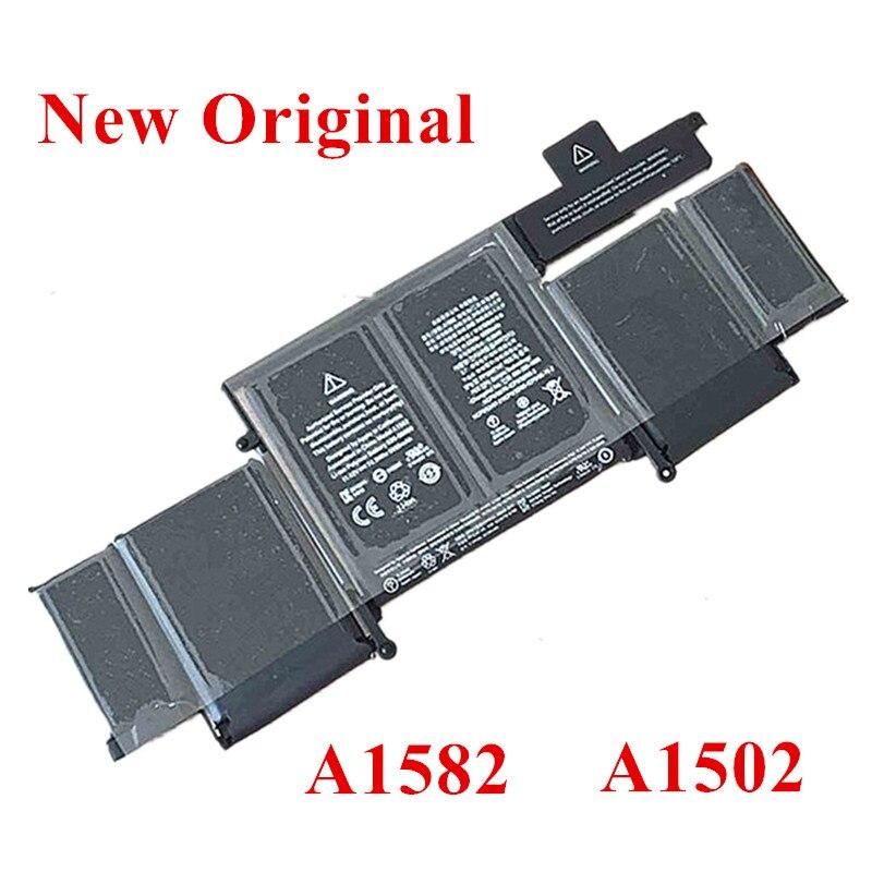 Nouvelle batterie Li-ion de remplacement pour ordinateur portable dorigine pour Apple Macbook PRO 2015 A1502 A1582 MF839 MF840 MF841