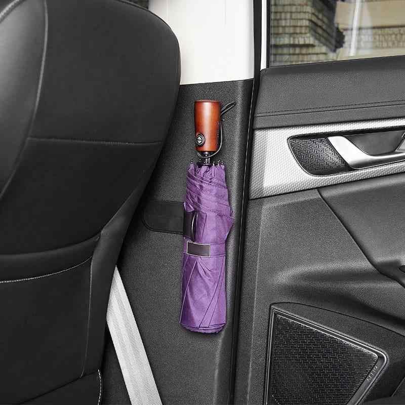 Adesivo assento de carro guarda-chuva titular de armazenamento pendurado gancho guarda-chuva de armazenamento de parede casa gancho da porta acessórios do carro
