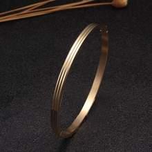 Простой дизайн Блестящий из нержавеющей стали для мужчин и женщин