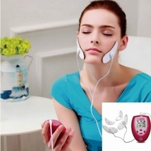 EMS Electric Facial Massager V Shape Face Stimulatior Muscle Stimulation Machine Face Massage Vibrator Slimming Massageador 3d massage roller slimming facial ball machine v face massager thin face instrument to double chin lean muscle for women health