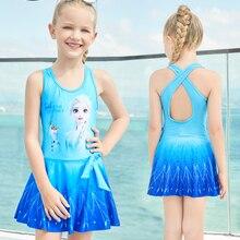 Girls Swimwear Frozen Children Kids Disney for 200845 Skirt Princess Original