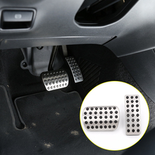 For Mercedes benz A-Class W176 B W246 CLA C117 GLS GLE W166 ML R Class W251 Car Gas Fuel Brake Pedal Accessories 2pcs/set