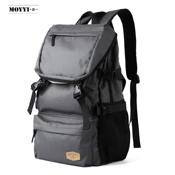 weekend travel backpack waterproof shoulder bag oxford cloth travel bag college student bag multi function sports gym bag MOYYI Waterproof Oxford Cloth Outdoor Backpack Male Climbing Travel Bag Fashion Trend Student Bag Unisex Large-capacity Backpack