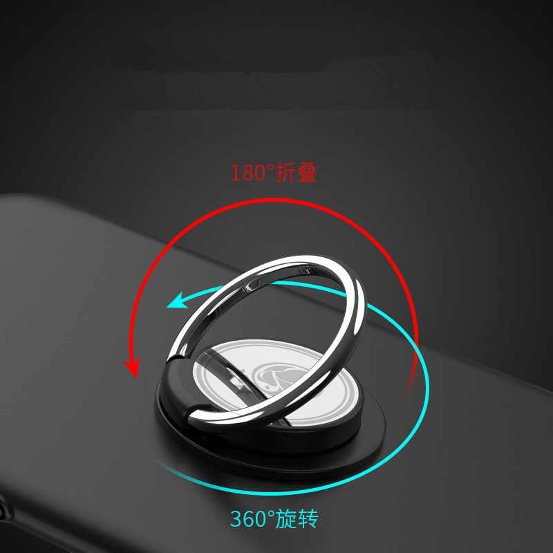 Round Multi-Fungsi Mobil Pemegang Telepon Cincin Gesper Ponsel Case Bracket Smartphone & Tablet Pemegang Cincin