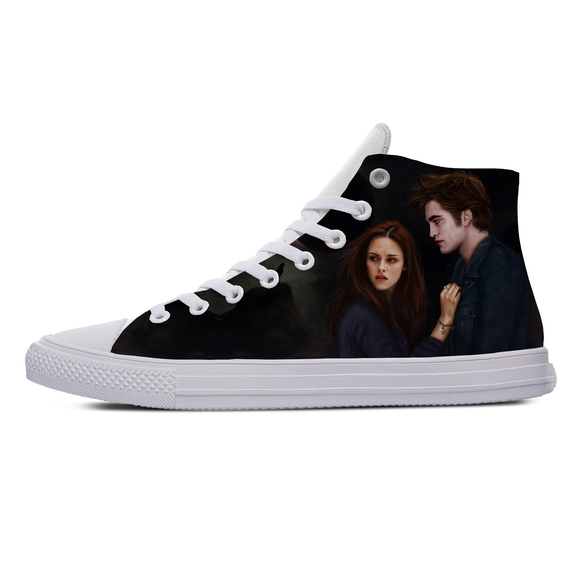 The Twilight Saga Love Movie Hot Cool Fashion Casual Canvas Shoes Breathable Lightweight Sneakers 3D Print For Men Women
