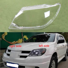 For Mitsubishi Outlander 2004 2005 2006 Headlight Cover Lamp Shade Headlights Shell Lampshade Headlamp Cover Lens Glass