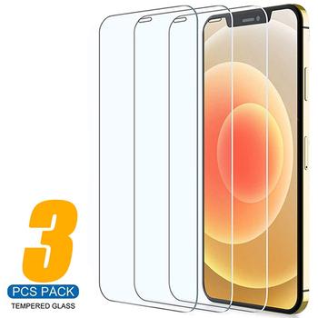 3 sztuk pełna pokrywa szkło ochronne dla iPhone 11 12 Pro MAX X XR XS ochraniacz ekranu dla iPhone 7 8 6 6s Plus SE szkło hartowane tanie i dobre opinie AICSRAD Przezroczysty TEMPERED GLASS CN (pochodzenie) APPLE 3PCS Tempered Glass for iPhone 12 Pro Max Glass 3PCS Screen Protector for iPhone 12 Pro Glass