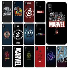 Deadpool iron Man Marvel Avengers KingKong fonecase dla Redmi 8 K20 Note4 Note5 5A 7 Note6 8pro Coque Shell etui na telefon komórkowy(China)