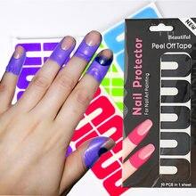 1 шт пилинг лента креативная u образная защита от брызг ногтей