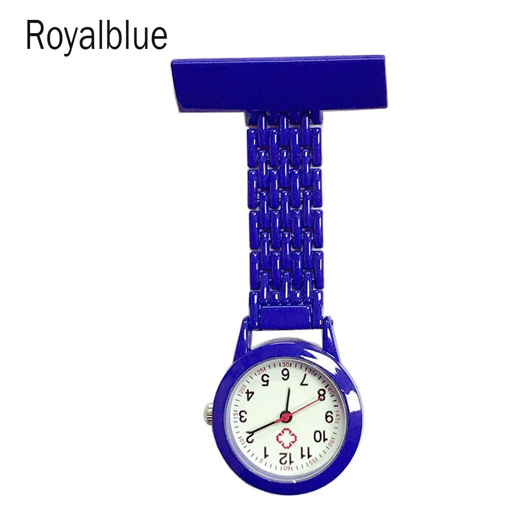 Nurse Quartz Watch Brooch Pocket Brooch Clip Medical Nurse Pocket Nursing Watch UND Sale