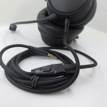 Cavo Audio di ricambio per Kingston HyperX Cloud / Cloud Alpha cuffie da gioco cuffie cavo Audio alta qualità