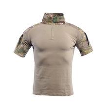 Новинка мужские боевые рубашки военная одежда камуфляжная Униформа