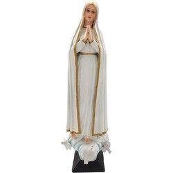 Harz Madonna Halter Gesegnet Jungfrau Maria Statue Figurine Unsere Dame von Lourds Saint Jungfrau Maria Statue Figur