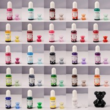 24 cores de cristal epóxi pigmento uv resina tintura diy jóias arte artesanato conjunto corante b36d