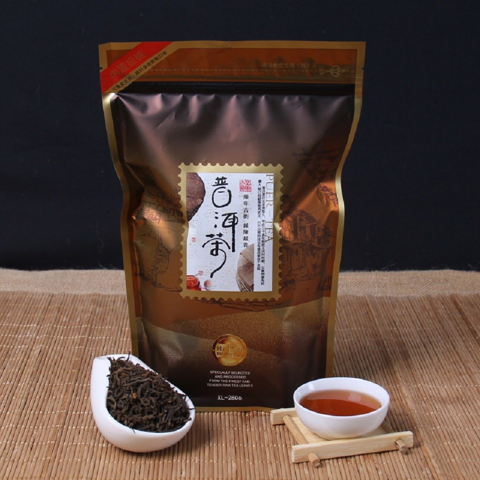 Chinese Yunnan Original Loose Pu'er Tea Promotion Top Grade Health Care Tea Ripe Pu'er Pu-erh Tea Natural Organic Health Tea
