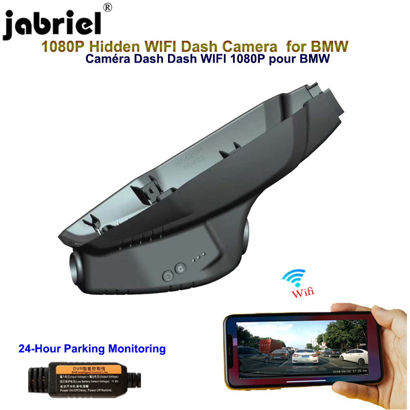 Jabriel 1080P Hidden dash cam Wifi car dvr Car Camera for BMW 218i 220i F22 F23 F44 F45 F46|DVR/Dash Camera| - AliExpress