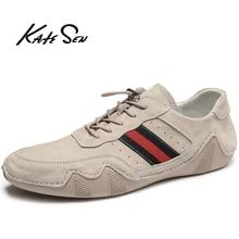 KATESEN Comfortable Men Casual Shoes Loafers Men