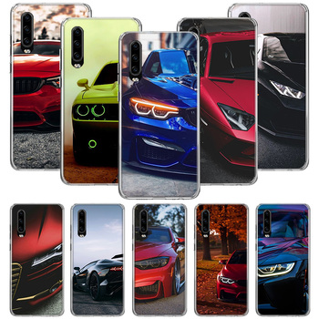 Blue Red for Bmw Case for Huawei P20 P30 P40 P10 Mate 30 10 20 Lite Pro P Smart Z 2018 2019 Pattern Phone Coque Cover image