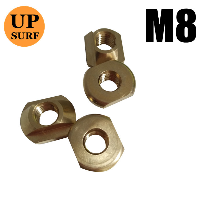 4 PCS FoilMount Size M6/M8 Hydrofoil Mounting T-Nuts For All Hydrofoil Tracks Surfing Outdoor Accessories