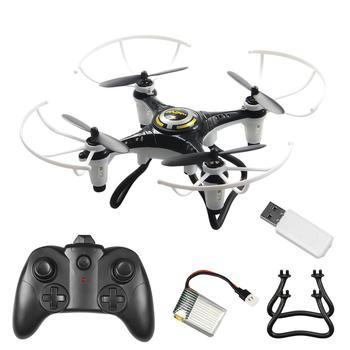 цена на GloryStar JX815-2 Mini 2.4GHz 4 Channel Drone 360° Rolling Quadcopter
