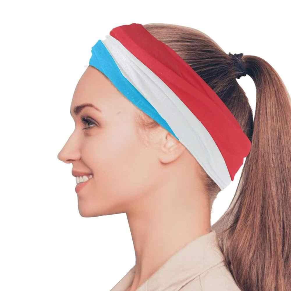 Headband Retro Flat Style Carnival Young People Brazilian Samba Dance Quick Dry Microfiber Headwear Outdoor Magic Bandana As