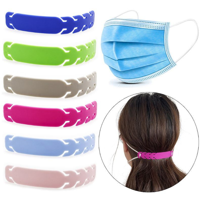 1pcs Adjustable Face Mask Buckle Anti-Slip Mask Extension Buckle Mask Ear Strap Hook