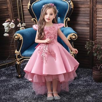 Wedding Tulle Lace Long Girl Dress  1