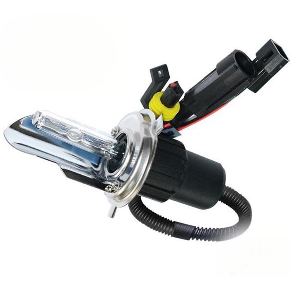 55W Super Bright <font><b>H4</b></font> HID <font><b>Kits</b></font> Bi <font><b>Xenon</b></font> Bulb 3000K 4300K 5000K 6000K 8000K <font><b>10000K</b></font> 12000k Motorcycle <font><b>Xenon</b></font> HID Conversion <font><b>Kit</b></font> image
