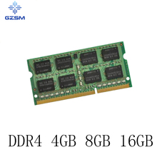 GZSM Laptop Memory DDR4 4GB 8GB 16GB Memory Cards 2133MHZ 2400MHZ 2666MHZ 3200MHZ Memory RAM for PC4 17000P 19200T 2666V 3200V kingston hyperx fury 4gb 8gb 16gb ddr4 2400mhz pc ram memory dimm 288 pin desktop ram internal memory ram for computer games ram
